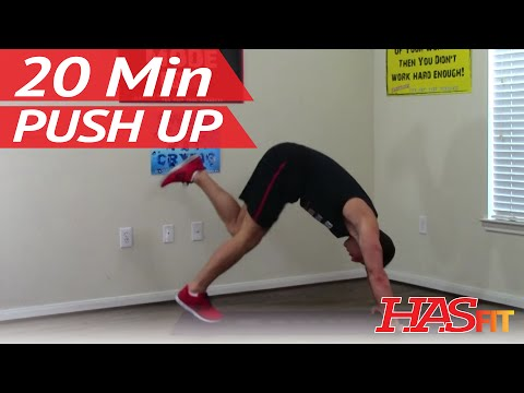 20 Min Push Up Workout Routine at Home Pushup Workout Pushups Exercises Training