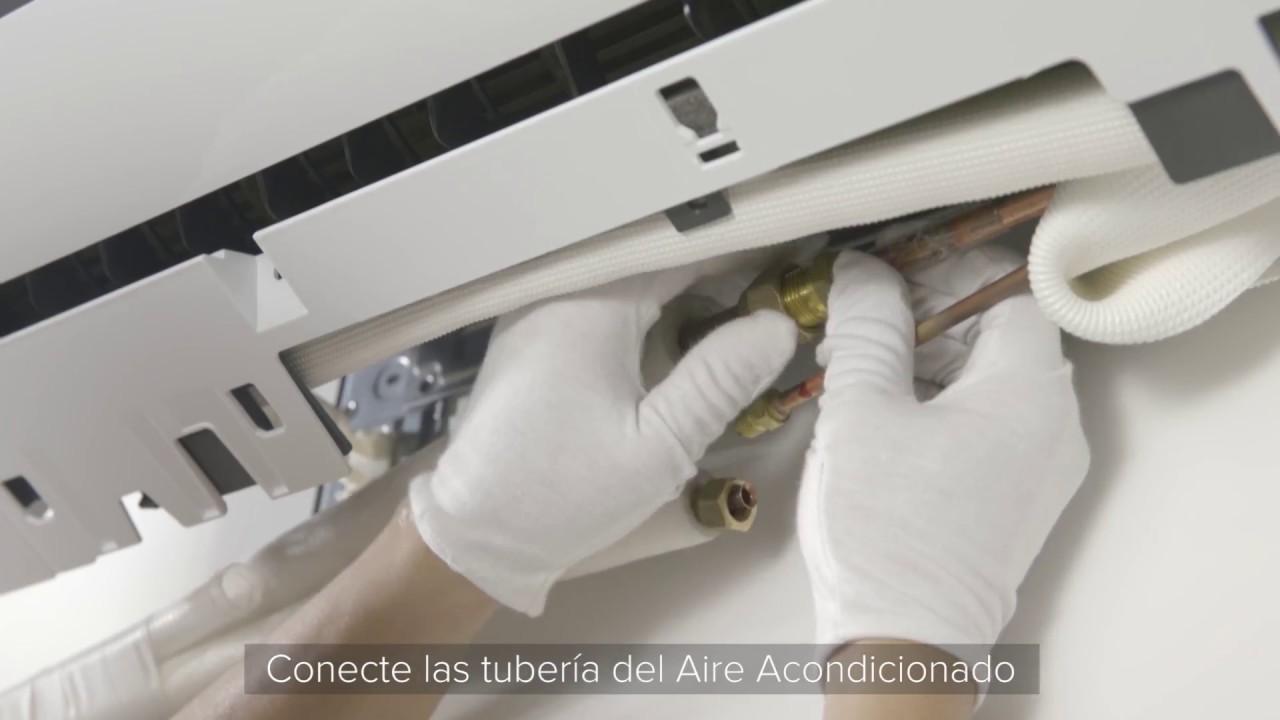 Aire acondicionado hisense guia r pida de instalaci n for Instalacion aire acondicionado sevilla