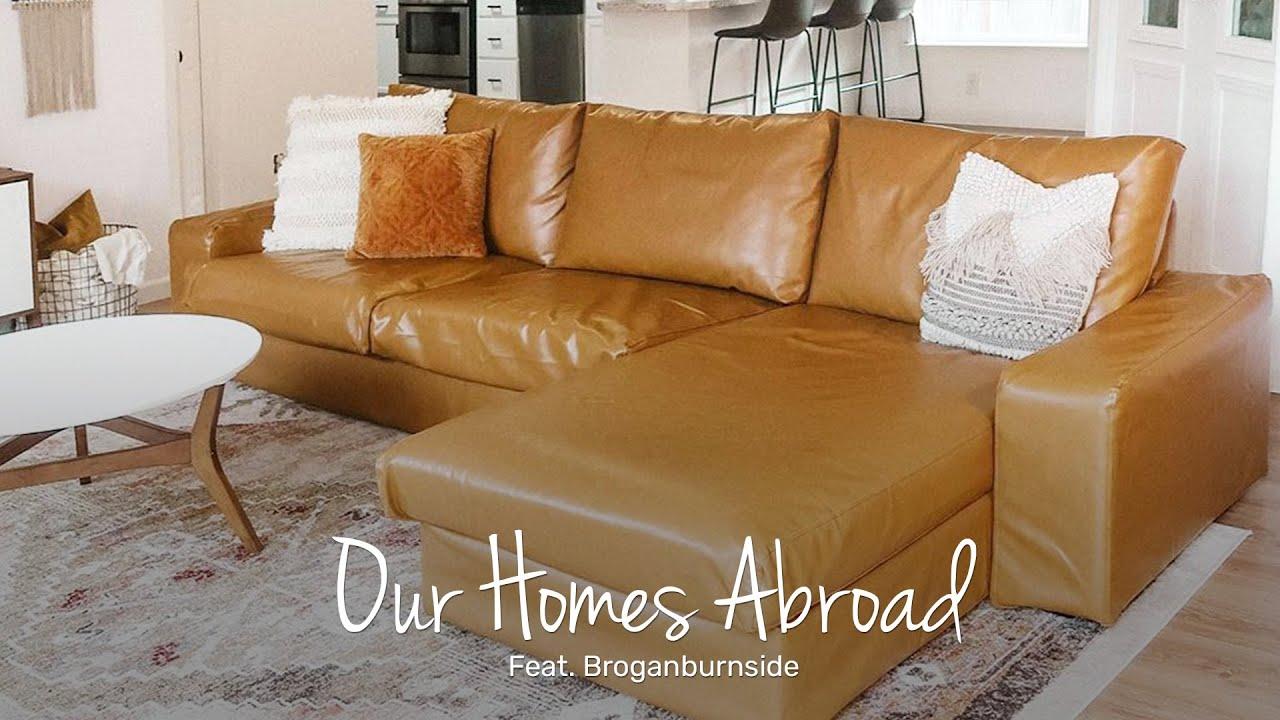 custom ikea kivik sectional sofa covers by comfort works feat brogantics tha 6