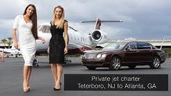 Private jet charter Teterboro, NJ to Atlanta, GA (2019)