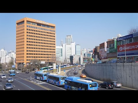 Walking in Seoul (South-Korea) part two