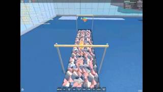 My roblox vidio with friend on sparkling gymnastics