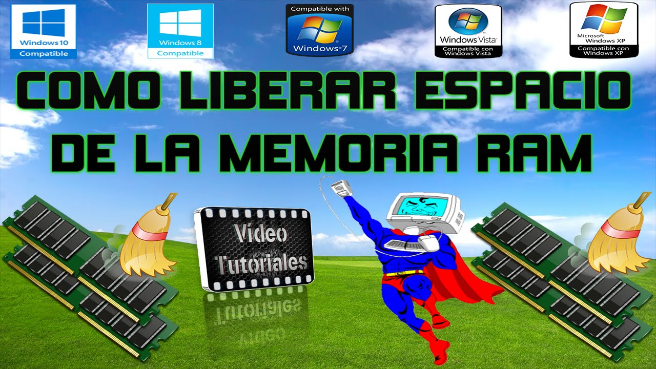 Como Liberar Espacio De La Memoria Ram Windows 10 8 1 8