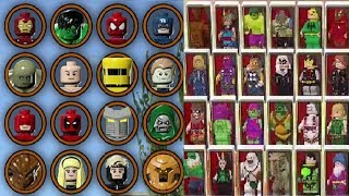 LEGO Marvel Super Heroes 1 & 2 - All Characters Unlocked