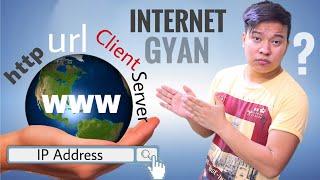 Internet Gyan : WWW, http vs https, IP Address ,URL , Client & Server