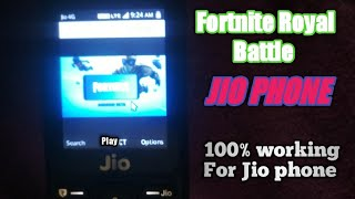 how to dawnlod Fortnite Battle Royale Jio phone/जियो फोन में fortnite kese khele free in hindi