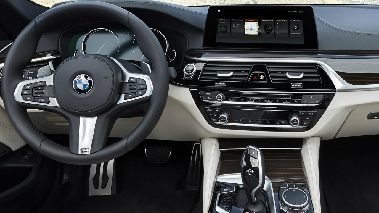 2017 Bmw 5 Series M Sport Interior Youtube