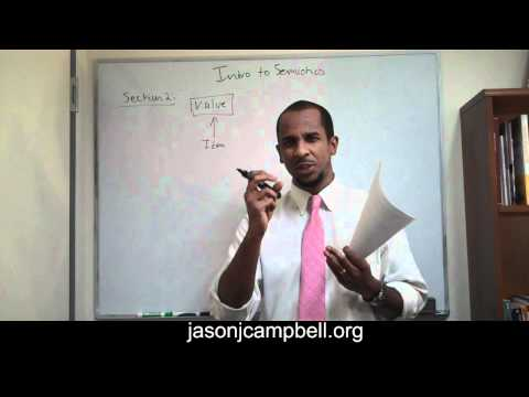 32. Section 2.0: Semiotics, Semiology, Sign and Saussure Lecture