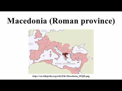 Macedonia (Roman province)