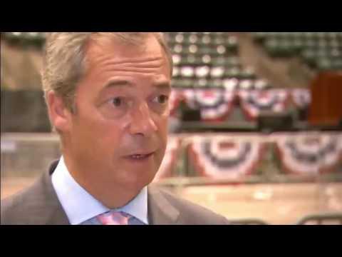 "Hillary Clinton ""fury"" flatters Nigel Farage"