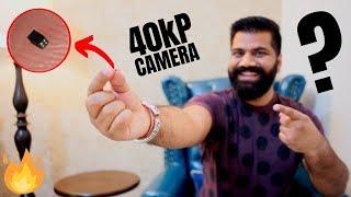 World's Smallest Camera!!! 40KiloPixel Images - Engineering Marvel???