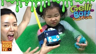 도전, 젤리 목욕. SLIME BATH CHALLENGE & gelli baff bath CHALLENGE