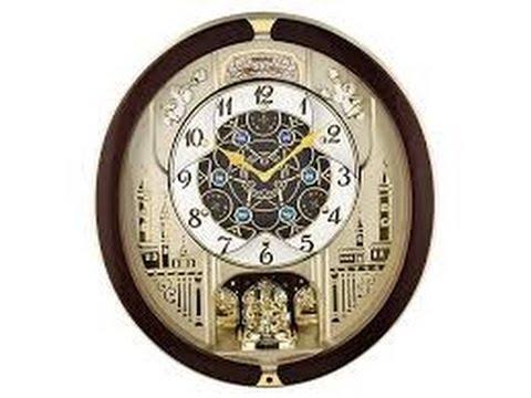 Seiko Melodies In Motion Qxm291b Clock 2013 Rotate Dial