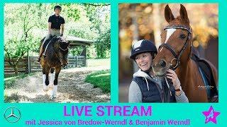 LIVE TALK mit Jessica von Bredow-Werndl - Mercedes-Benz Reiter Forum LIVE