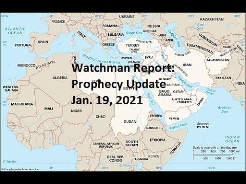 Prophecy Update - Jan. 19, 2021 - Iran, Turkey & Kurds (Daniel 8), 2020 Elections, Covid-19!