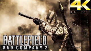Battlefield Bad Company 2 - JUNGLE WARFARE -  MULTIPLAYER GAMEPLAY (4K/60)