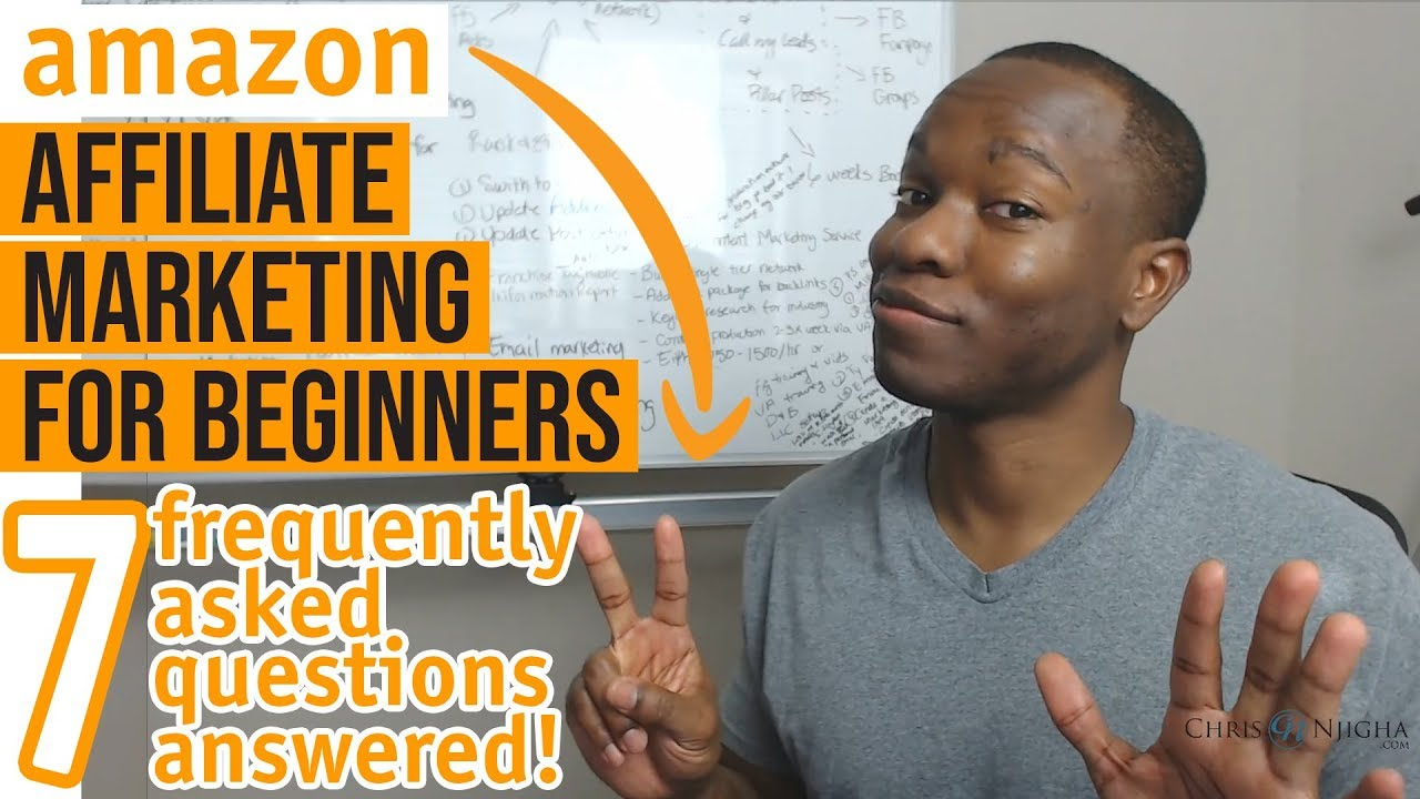 Amazon Affiliate Marketing for Beginners: Top 7 Frequently Asked Questions Answered