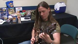 rusty cooley and mark tremonti hanging out backstage jamming