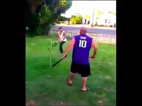 Bully Gets Beat Down With A Baseball Bat