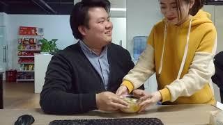 Thánh ăn công sở - Làm bánh bao và chè thập cẩm