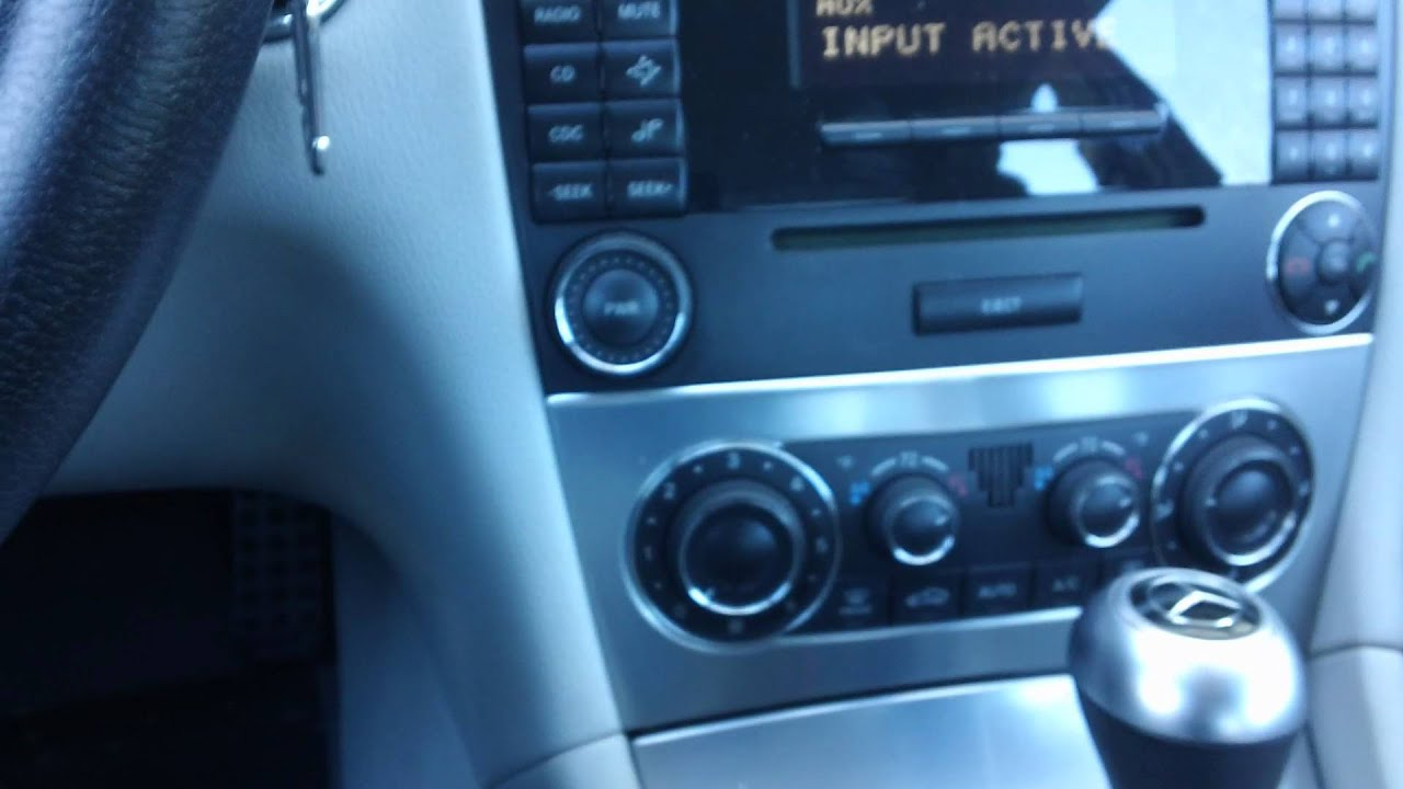 2006 mercedes benz c class w203 ipod iphone integration al for Aux cable mercedes benz c230