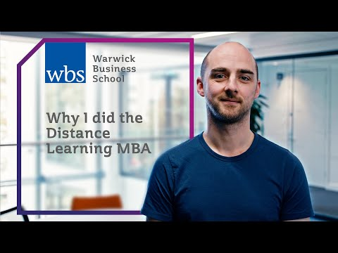 Why I did the Distance learning MBA - Turning a business idea into reality