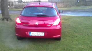 PEUGEOT 308 HDI 110 Sets a record Videos