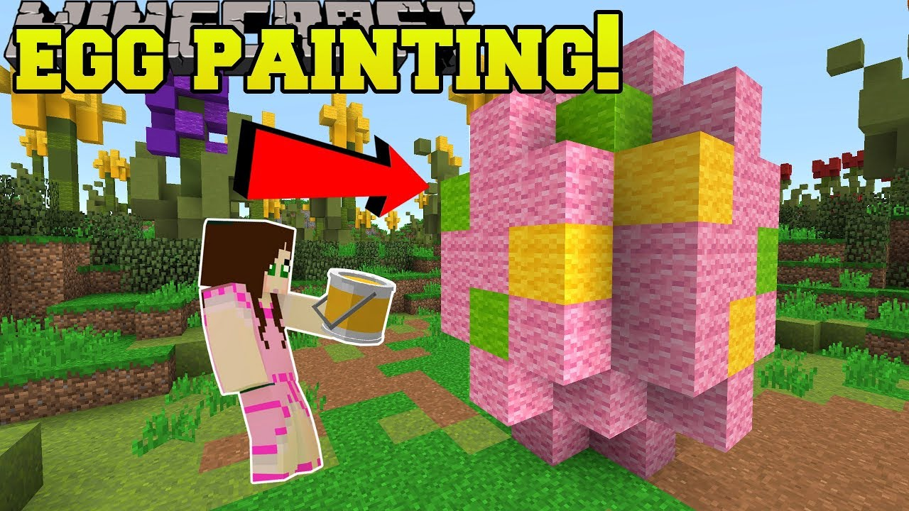 Egg Chair Roze.Minecraft Easter Egg Painting Contest Easter Eggcitement