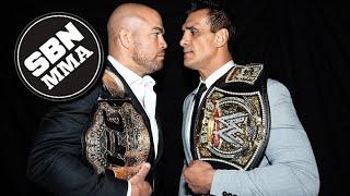 Tito Ortiz vs. Alberto Del Rio | 'Bare Bones' Toe-To-Toe Showdown | Combate Americas