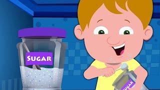 Джонни Джонни Да Папа | Детские песни для детей | Дошкольные стихи | Johny Johny Yes Papa