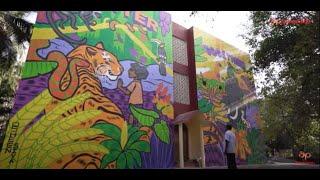 Asian Paints & St+art India Present Donate A Wall - Kerala (Thiruvananthapuram)