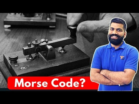 What is Morse Code? Morse Code for SOS? Old Communication Explained