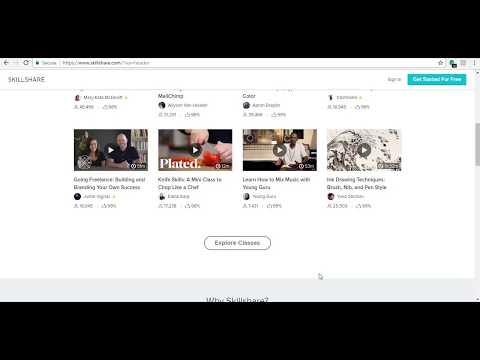 How To Get skillshare Premium trial for free (Without credit card