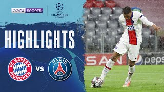 拜仁慕尼黑 2:3 巴黎聖日耳門   Champions League 20/21 Match Highlights HK
