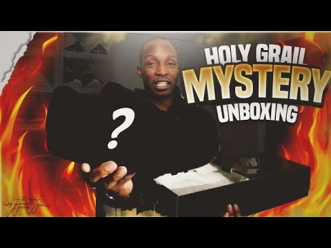 HOLY GRAIL MYSTERY UNBOXING