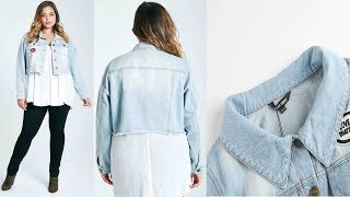 New Fashion Long Sleeve Casual Short Denim Coats Review | Best Jackets For Women Fashion 2018
