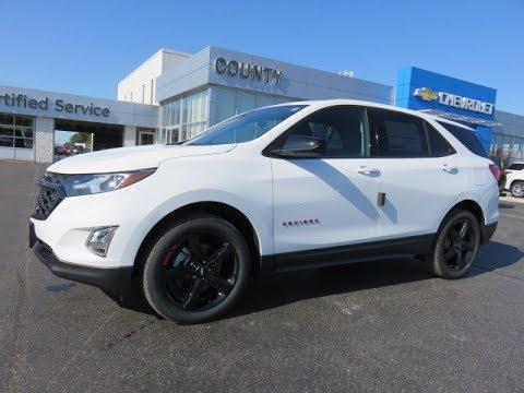 2020 Chevrolet Equinox Lt Awd Redline Edition Summit White Youtube