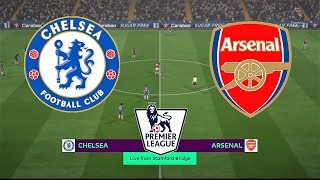 Chelsea vs Arsenal | English Premier League 2018/19 | Matchweek 2 | Simulation
