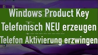 Windows telefonisch aktivieren | Product Key generieren Windows 7, 8, 8.1 und 10 | TheAskarum