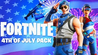 The RARE July 4th SKINS BACK in Fortnite!