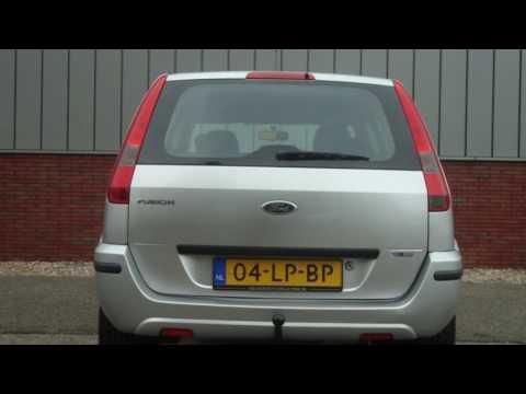 Ford Fusion 1.4-16V LUXURY Aut. | Airco | Trekhaak | El. Ramen