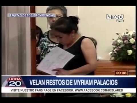 Velan restos de Myriam Palacios. Polémica por quienes la cuidaron hasta sus últimos días