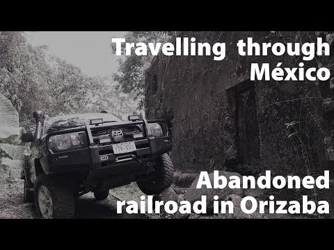 Offroad through abandoned railroad in Mexico