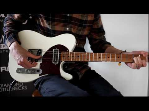McNelly Pickups Charlie Christian Soapbar demo video