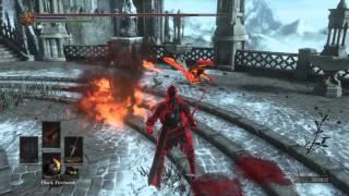 DARK SOULS™ III PvP Rope Firebomb kill