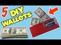 5 DIY Wallets You Can Make For Emergencies (Simple Life Hacks)| Nextraker