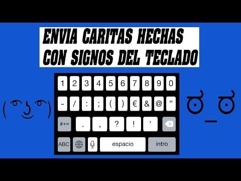 CREA Y ENVÍA CARAS HECHAS CON SIGNOS DEL TECLADO + RESULTADOS DEL SORTEO DE LAS TARJETAS