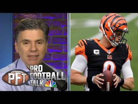Florio's Notebook: Joe Burrow gets first NFL win   Pro Football Talk   NBC Sports