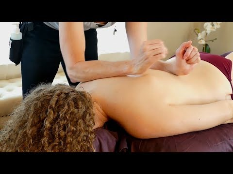 Ultra Relaxing Back Massage & Guided Meditation for Sleep & Stress Relief | Jade Nelson
