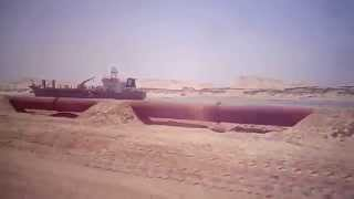 New Suez Canal: Kilo 81 and dredgers